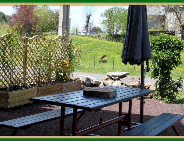 terrasse privative arrière